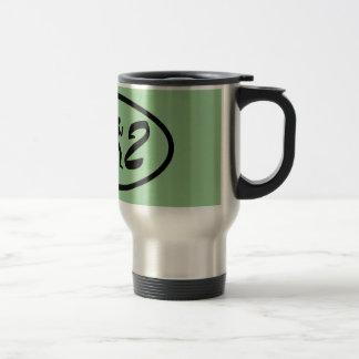 Maratón para mujer taza de café