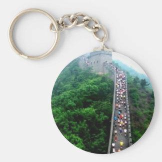 Maratón Shanghaiist de la Gran Muralla Llaveros