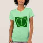 Maratón verde de NumberONE Camiseta