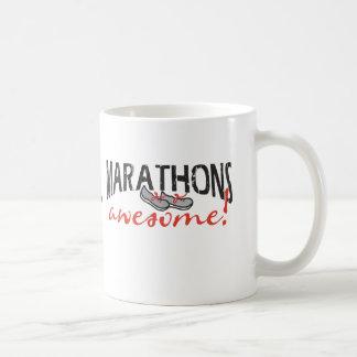 ¡Maratones impresionantes! Taza De Café