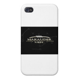 Marauder Youth Football League Cover For iPhone 4