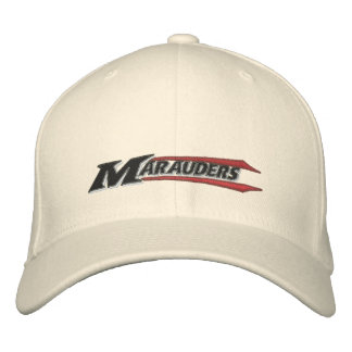 Marauders Embroidered Wordmark Embroidered Baseball Caps