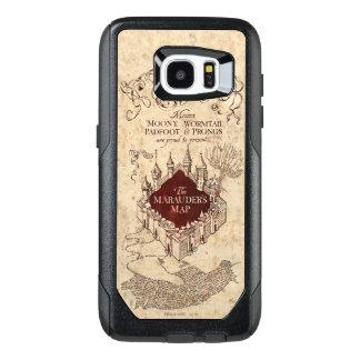Marauder's Map OtterBox Samsung Galaxy S7 Edge Case