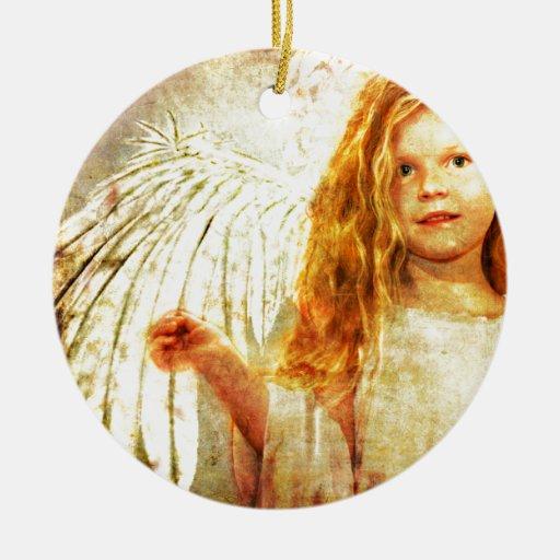 Maravilla angelical adornos de navidad
