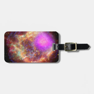 Maravilla astronómica etiqueta para equipaje