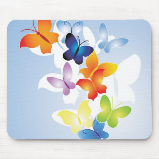 Maravilla de la mariposa tapete de raton