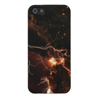 maravilla de la naturaleza de aligerar el caso de iPhone 5 carcasas