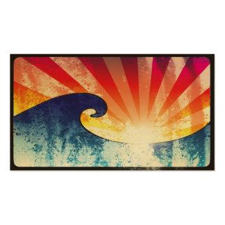 Maravilla de la puesta del sol de SuperCali Tarjeta De Negocio