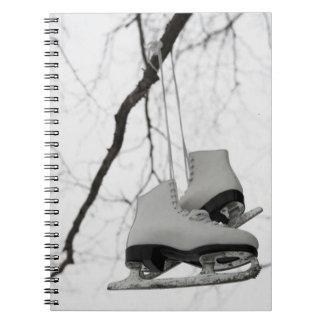 Maravilla del hielo spiral notebooks