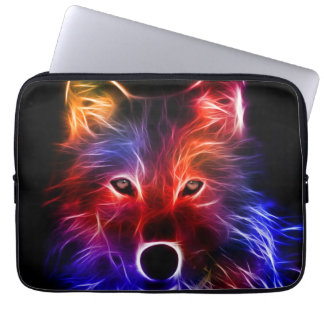 Maravilla del lobo funda computadora