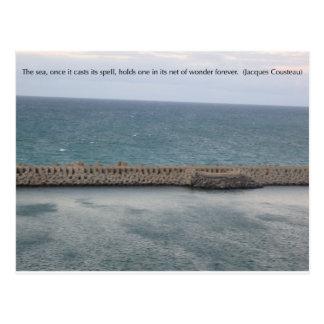 Maravilla del mar postal
