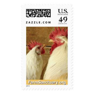 Maravilla y Beck los pollos Estampilla