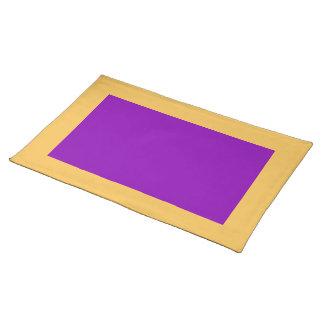 Maravilla y Placemat violeta Manteles Individuales