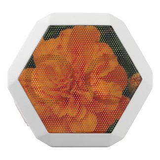Maravillas anaranjadas altavoces bluetooth blancos boombot REX