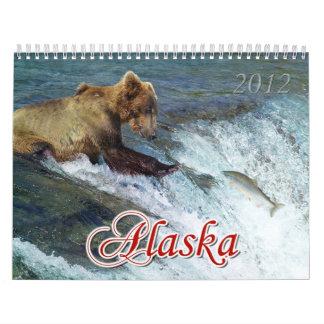 Maravillas del calendario de Alaska 2012