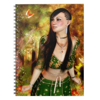 Maravillas del cuaderno encantado del bosque