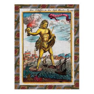 Maravillas del mundo antiguo tarjetas postales