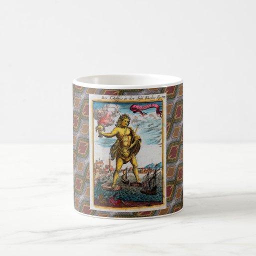 Maravillas del mundo antiguo taza clásica