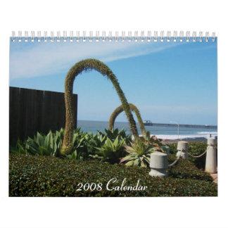 Maravillas florales, calendario 2008