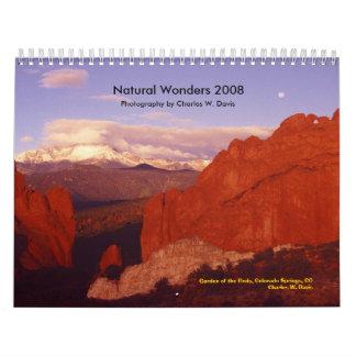 Maravillas naturales 2008 - modificadas para calendario