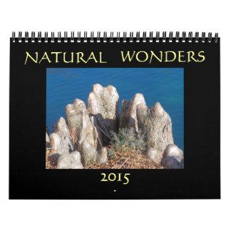 Maravillas naturales 2015 calendarios