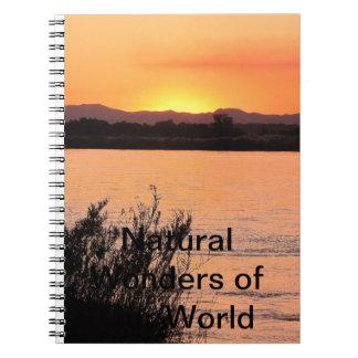 Maravillas naturales de nuestro cuaderno del mundo