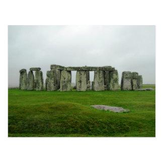 Maravillas prehistóricas del monumento de StoneHen Tarjetas Postales