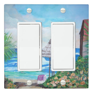 Marbella, Double Toggle Light Switch Cover