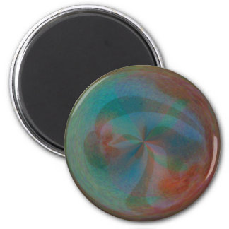 marble 2 inch round magnet