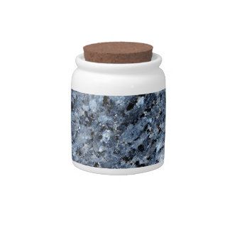 Marble abstract background design candy jars