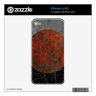 Marble abstract decals for the iPhone 4