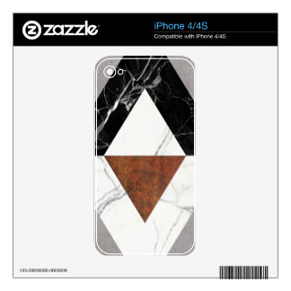 Marble Abstract iPhone 4 Skin