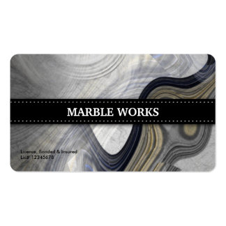 Marble Abstract Kitchen Remodeling Business Cards