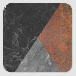 Marble abstract square sticker