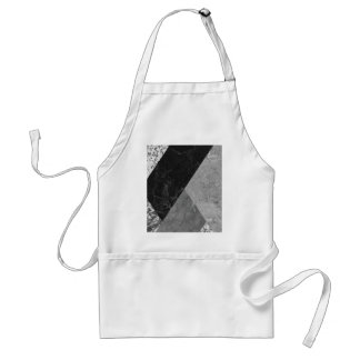 Marble and granite abstract adult apron