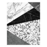 Marble and Granite Abstract Letterhead