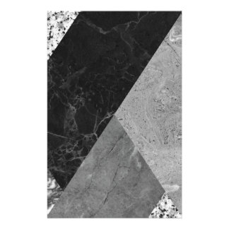 Marble and granite abstract stationery