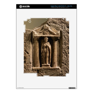 Marble and sandstone votive stele with female figu iPad 3 decals