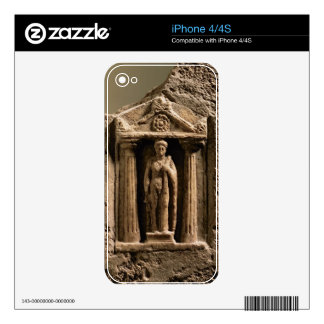 Marble and sandstone votive stele with female figu skins for the iPhone 4S