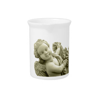 Marble Angel Pitcher
