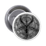 Marble Baphomet Button