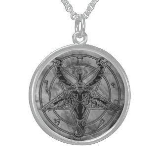 Marble Baphomet Necklace