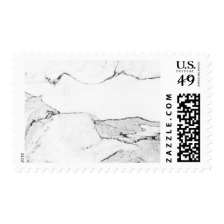 Marble Black and white earthy stone stamp