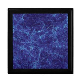 MARBLE BLUE KEEPSAKE BOX