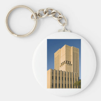 Marble Building Exterior Keychain