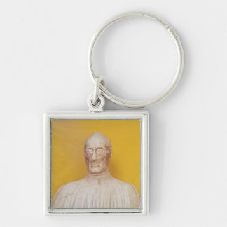 Marble bust of Giovanni Chellini Key Chains
