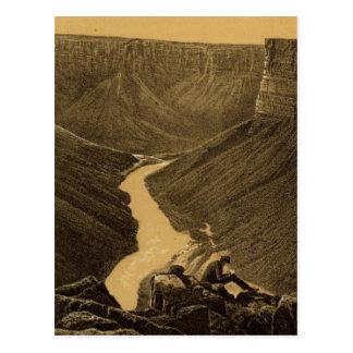 Marble Canon, Colorado River Postcard