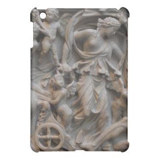 Marble Carving of Selene, the Moon Goddess iPad Mini Cover