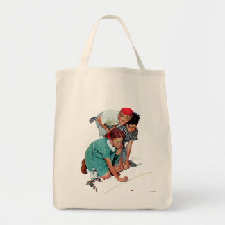 Marble Champion Grocery Tote Bag