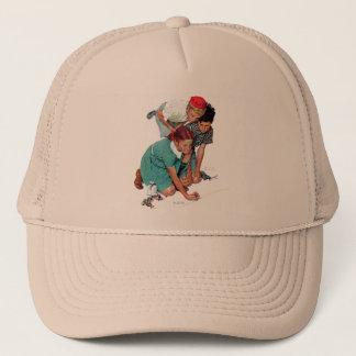 Marble Champion Trucker Hat